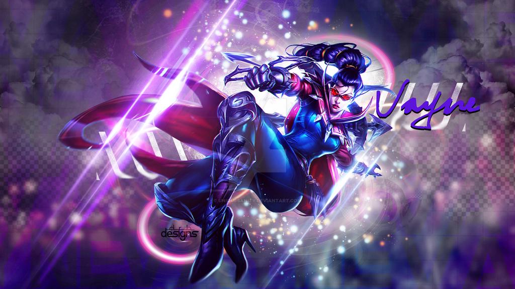 Vayne League of Legends Wallpaper by UniqueSanity
