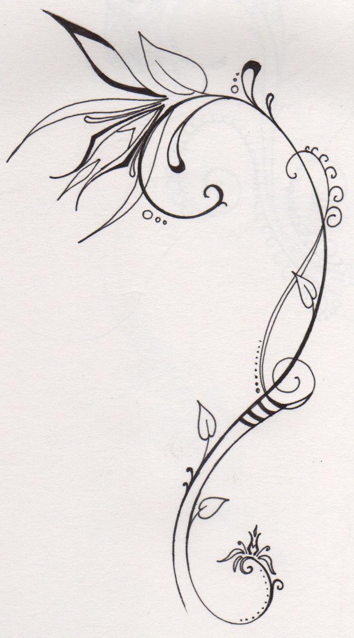 Flor de lis tattoo pictures to pin on pinterest page 2 - Dessin tatouage fleur ...