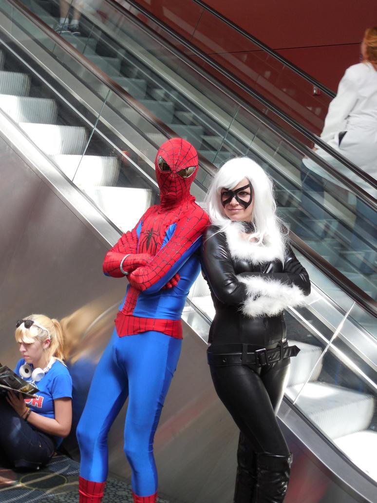 Spider-Man Black Cat by fireemblemspider
