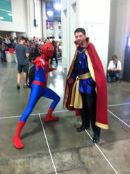 Spider-Man and Doctor Strange