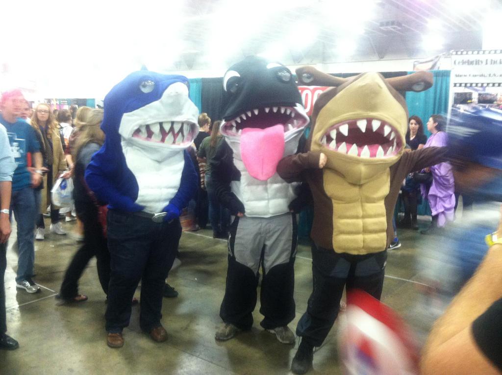 Street Sharks by fireemblemspider