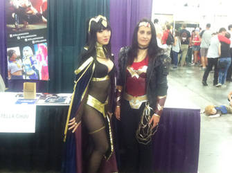 Tharja and Wonder Woman