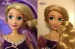 Rapunzel Singing Doll repaint