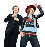 The Mighty Boosh Vector
