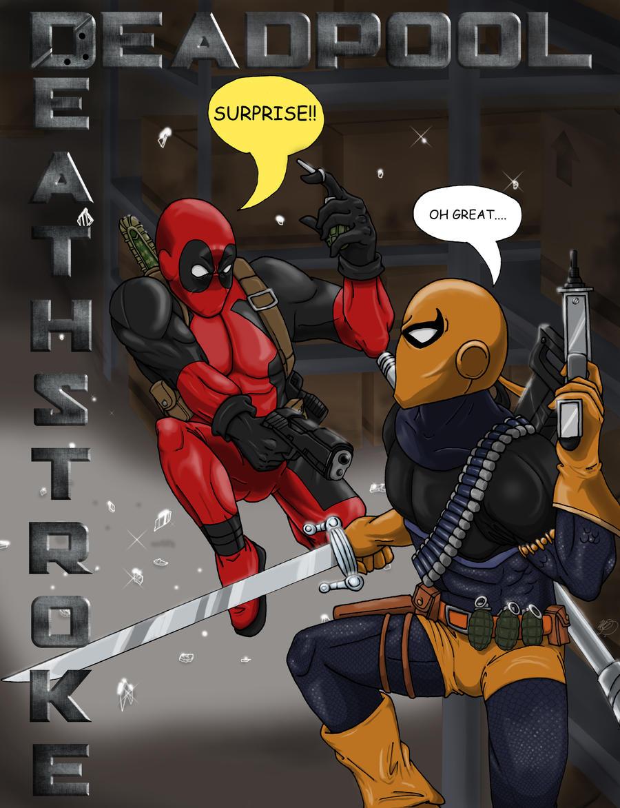 Deadpool vs. Deathstro...