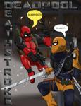 Deadpool vs. Deathstroke by Atomi-Cat