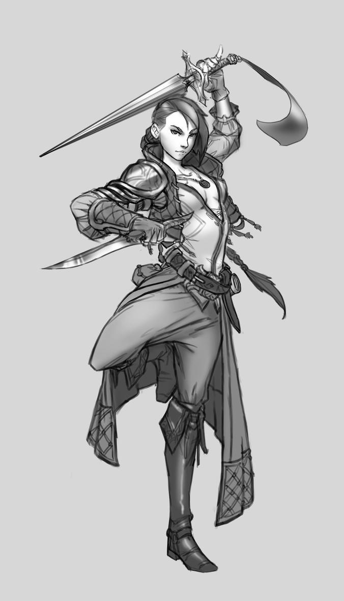 Arya Stark - Sketch by suburbbum