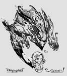 Drawlloween #01 - Ghost