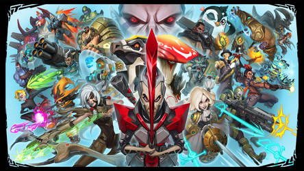 Battleborn Splash Screen