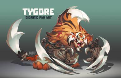 TYGORE - Gigantic Fan Art by suburbbum