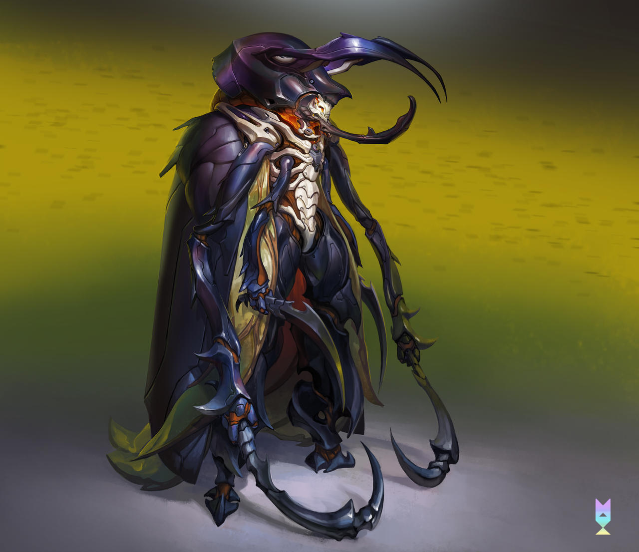ATLAS Shell: Swarm Assassin by suburbbum