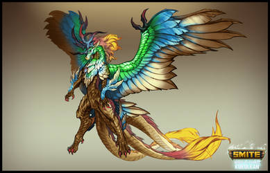 SMITE - Winds of Change Kukulkan - Life Form