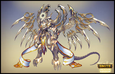 SMITE - Winds of Change Kukulkan - Celestial Form