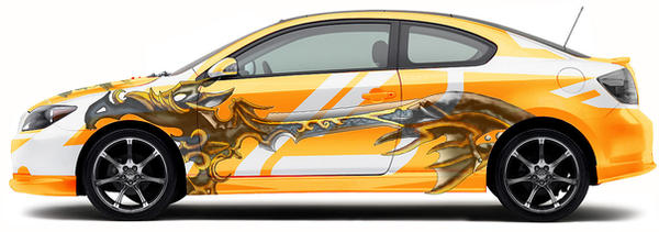 Ancient Keyblade Car by suburbbum