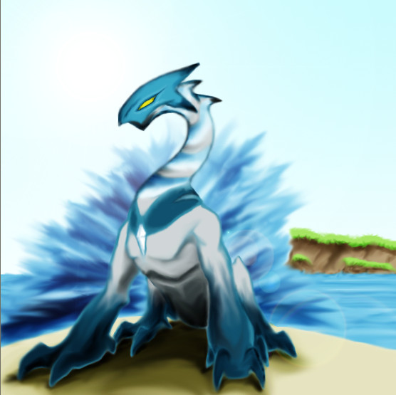 My own pokemon design 1 by suburbbum