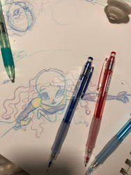 testing out new drawing pencils!