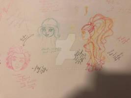 doodles 8/20/18