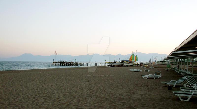 Lara Beach Antalya, Turkey v1
