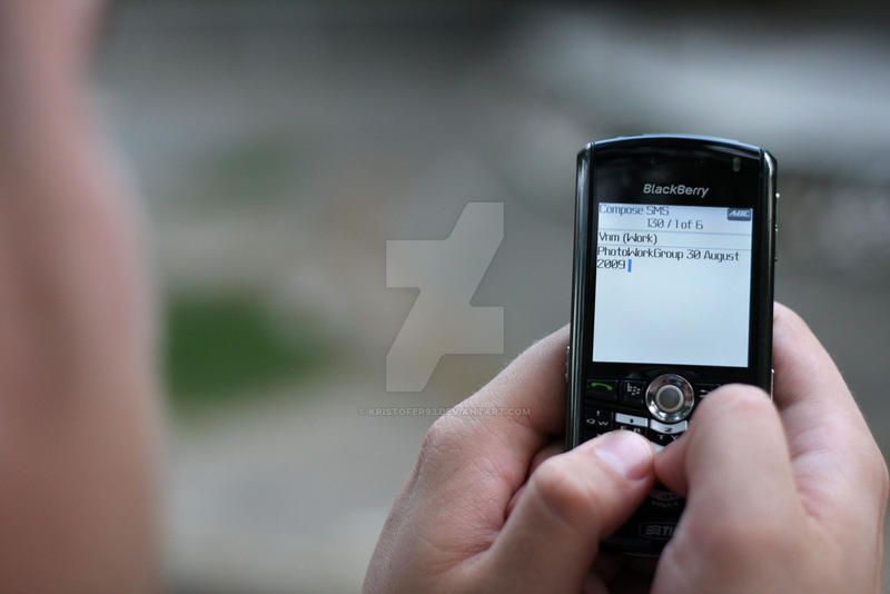 PhotoWorkGroup on Blackberry