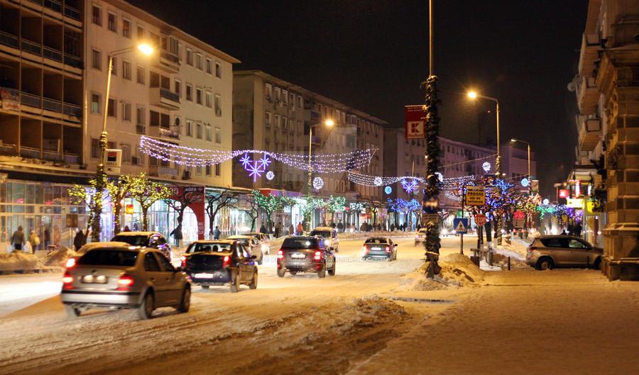 Winter in Bacau