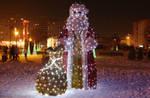 Santa Claus at night