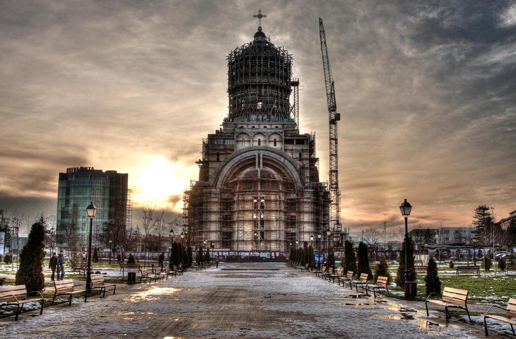 Parcul Catedralei in HDR