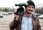 Cameraman in actiune