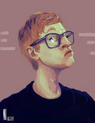Favey Portrait Krita 3.1 by MarTs-Art