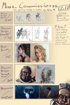 Opening Commissions | More info in description