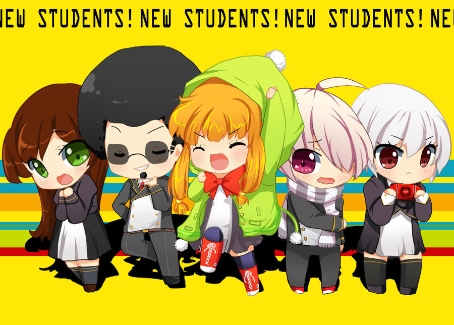 MM: New Students by CamiIIe