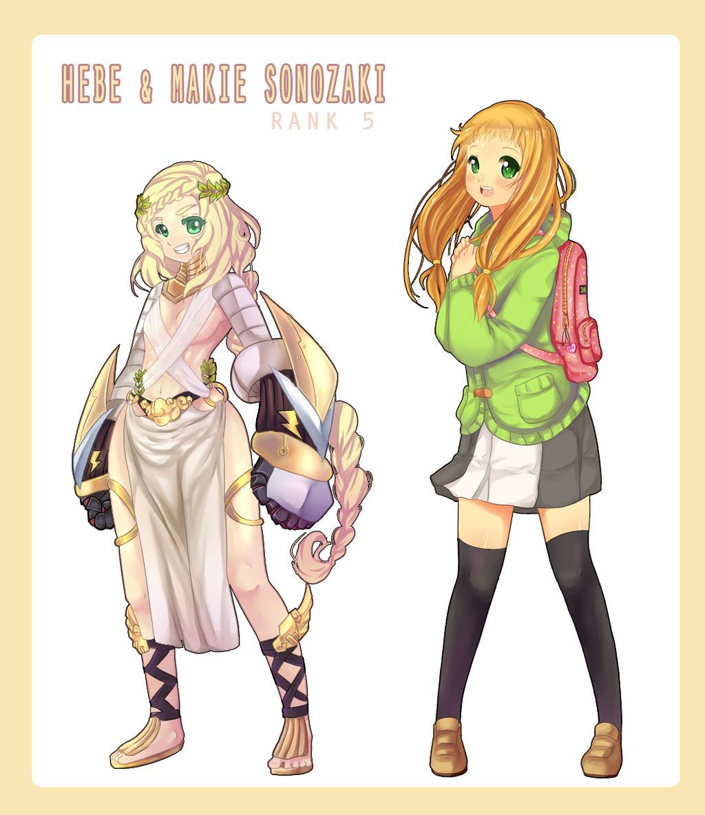 MM: Rank 5 Makie Sonozaki by CamiIIe