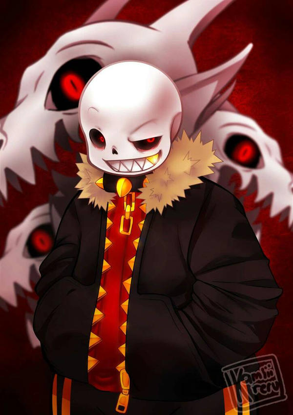 commission - Undertale AU: underfell by CamiIIe