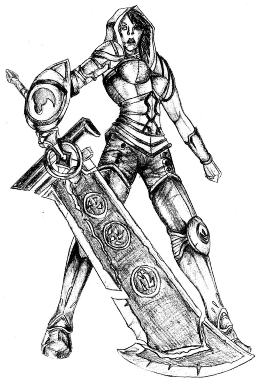 2020 Other | Images: Redeemed Riven Fan Art
