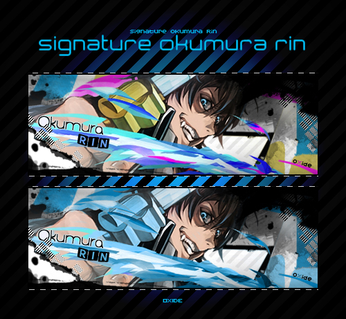 .:Oxideograph:. Signature_okumura_rin_by_oxide37-d4nmmab