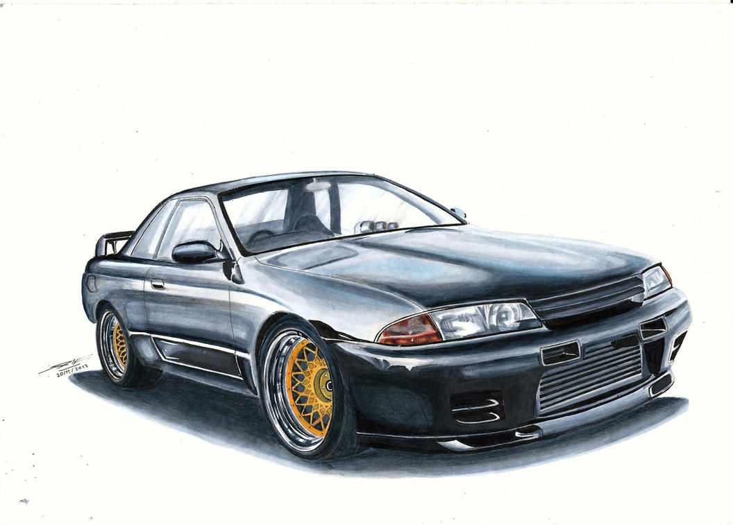 Nissan Skyline R32 Gt R By Mglola On Deviantart