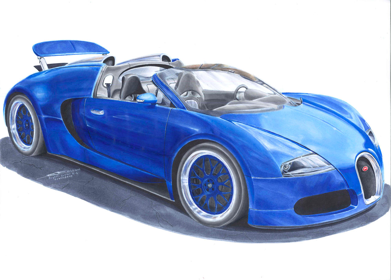 how to draw a pagani