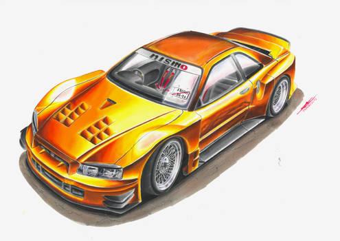 Nissan Skyline R34 JGTC Street Vandal - WDT Entry