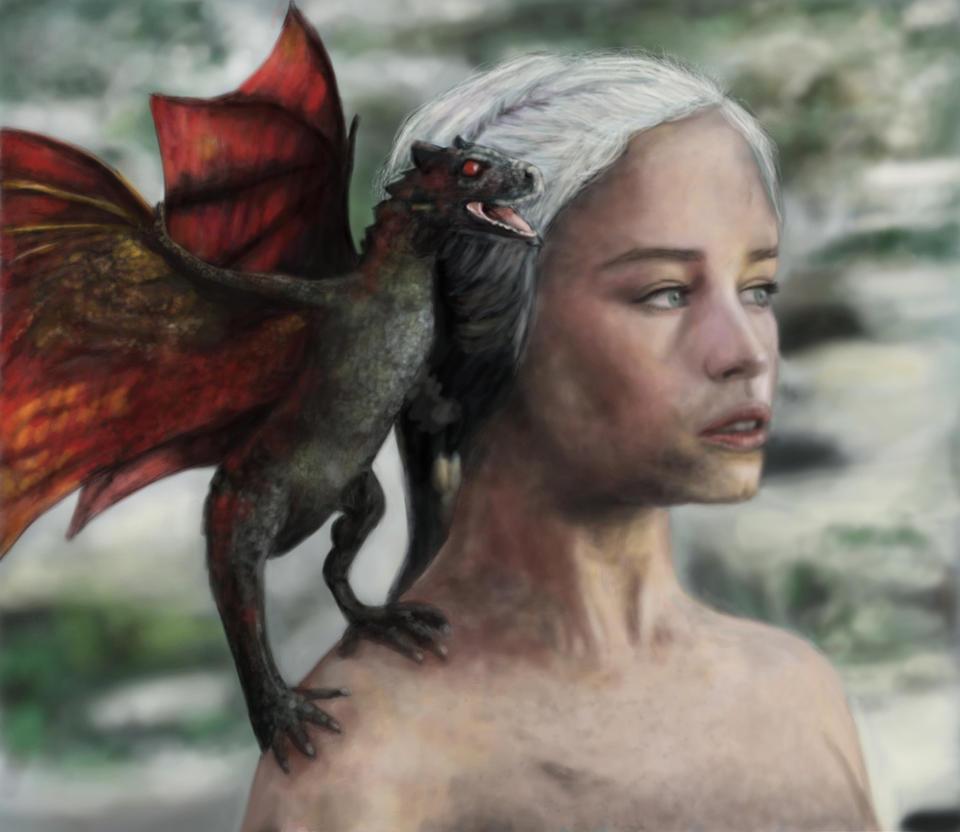 Daenerys Targaryen Mother Of Dragons By Bandgeekninja0723