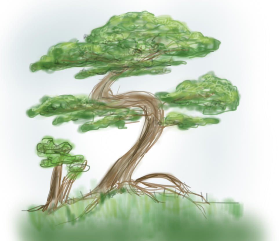 SKETCH A TREE by BandGeekNinja0723