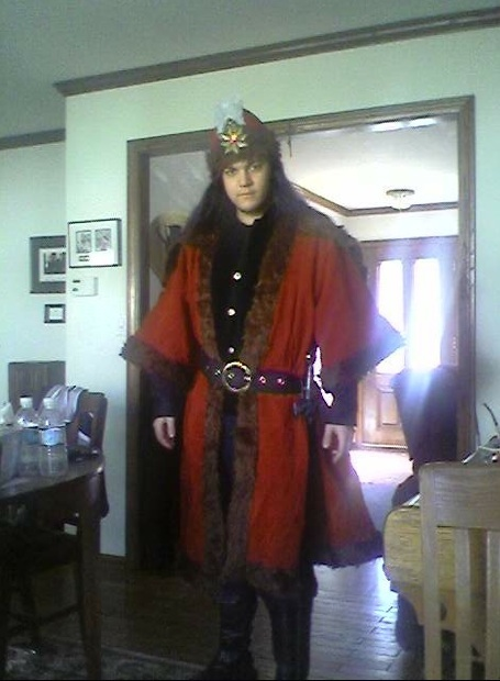 Vlad Tepes Dracul III Costume by GregorytheImpaler