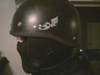 Shadowbolt Airsoft Helmet Tag by GregorytheImpaler