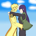 Point Commission 1 : NaruHina (Colored)