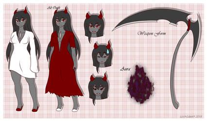 [Revamp Ref] Haku the Blood Maiden by NickH49