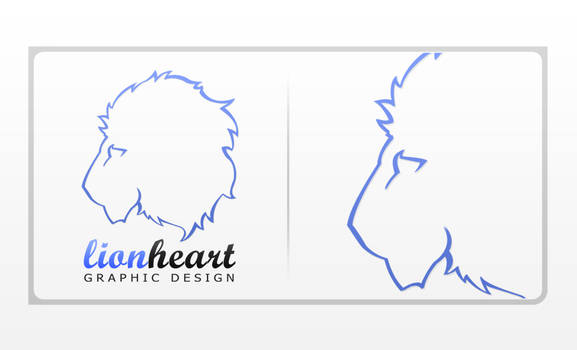 LionHeart Logo Design