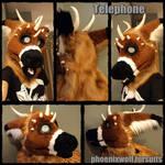Telephone fursuit head