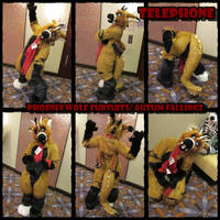 Telephone the dragon fursuit by phoenixwolf33