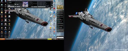 lappy desktop by PPNSteve