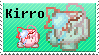 .:Commission:. Kirro Stamp! by Kokiri-Kidd