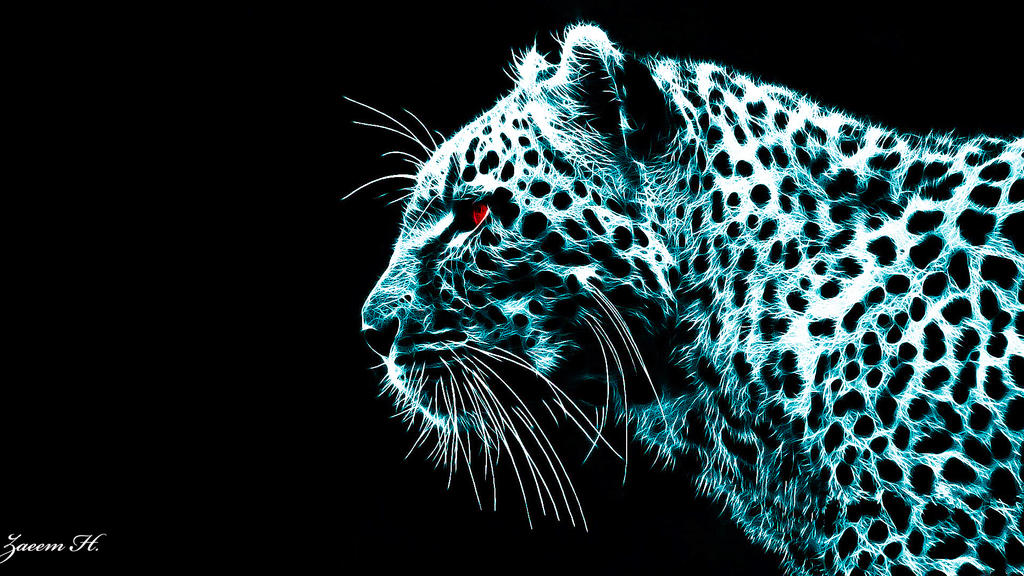 Neon Leopard by shadowXP6 on DeviantArt