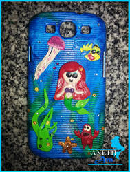 Little Mermaid Phone Cover (Samsung Galaxy S3)